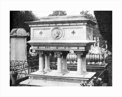 Tomb of Elizabeth Browning, Florence, design by Lord Leighton by Rischgitz Collection