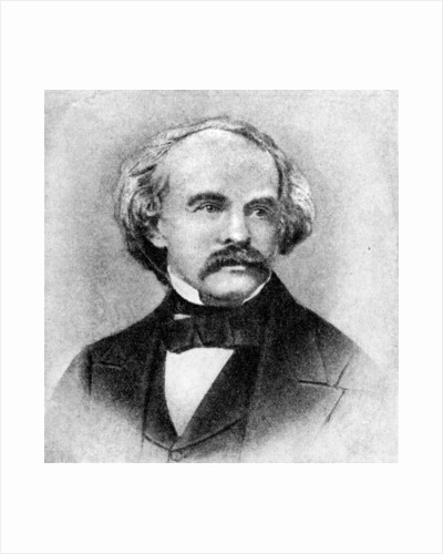 Nathaniel Hawthorne, Author of Tanglewood Tales by Rischgitz Collection