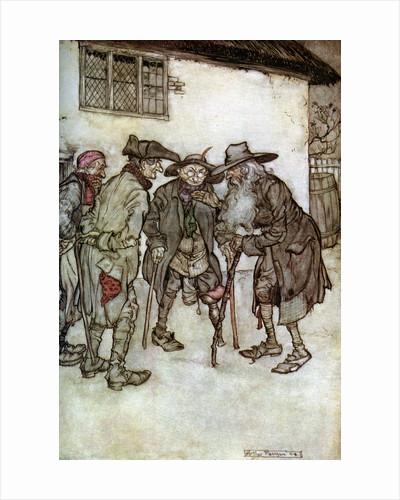 Rip Van Winkle by Arthur Rackham