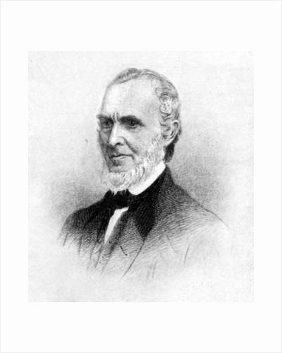 John Greenleaf Whittier, New England Poet by Rischgitz Collection