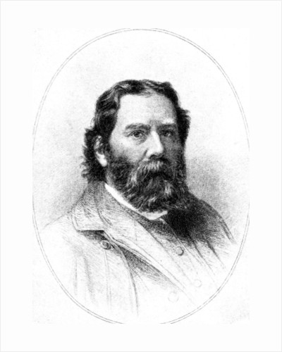 James Russell Lowell, Humorous Poet by Rischgitz Collection