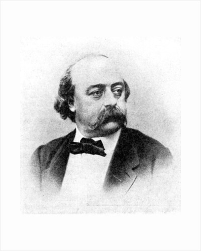 'Gustave Flaubert', Author of Madame Bovary by Rischgitz Collection