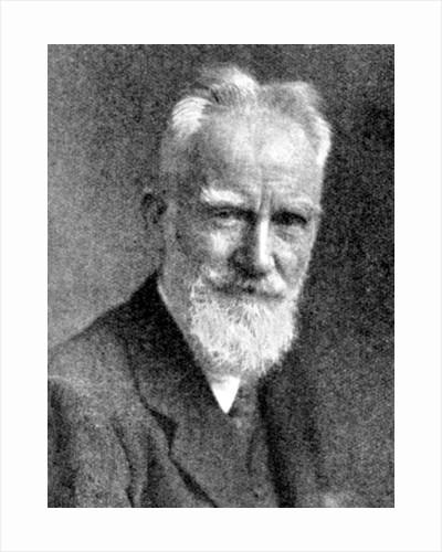 'George Bernard Shaw', British dramatist by C Vandyk Ltd