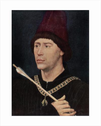 Portrait of Antoine, Bastard of Burgundy by Rogier van der Weyden