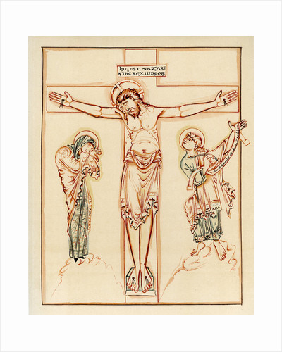 Crucifixion, 980-1000 AD by Anonymous