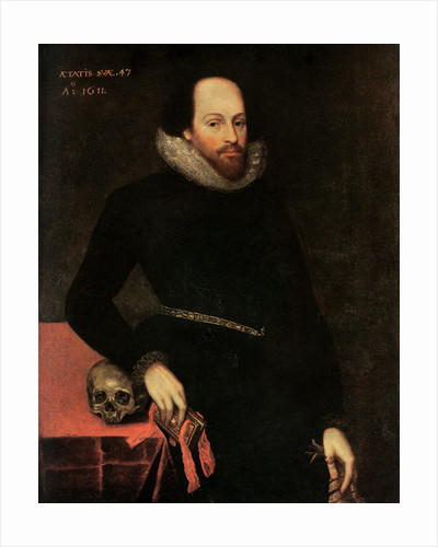 The Ashbourne Portrait of Shakespeare by Cornelius Ketel