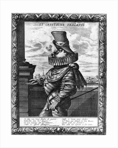 'Capitaine Fracasse', c120-1670 by Abraham Bosse