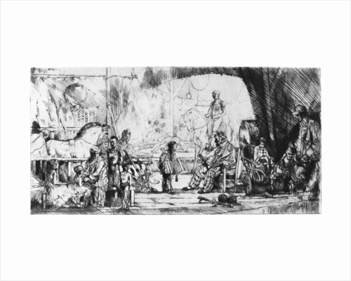 'Cirque Pinder by Auguste Brouet