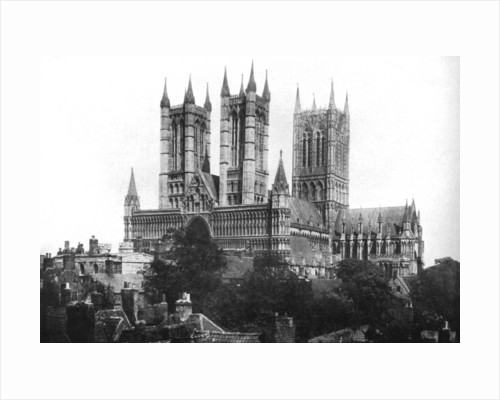 Lincoln Cathedral by Anonymous