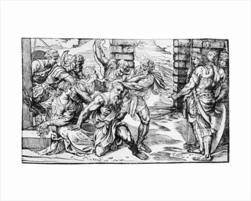 Samson and Delilah by Nicolo Boldrini