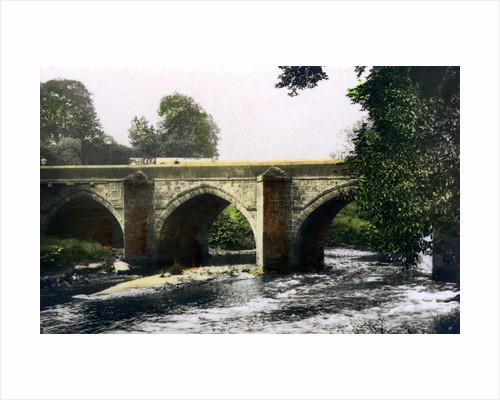 Bridge over the River Derwent, Matlock, Derbyshire by Cavenders Ltd
