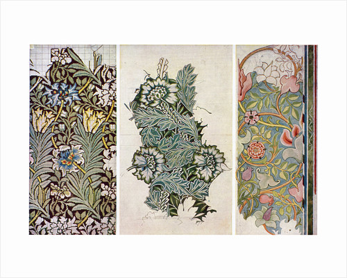 Working drawings by William Morris by William Morris