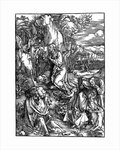 Agony in the Garden by Albrecht Dürer