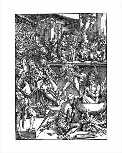 The Torture of St John the Evangelist by Albrecht Dürer
