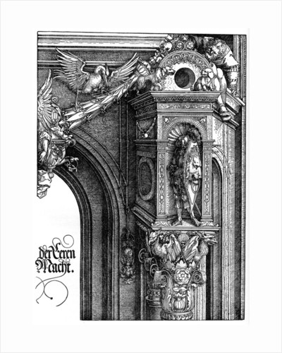 The Triumphal Arch of Emperor Maximilian I by Albrecht Dürer