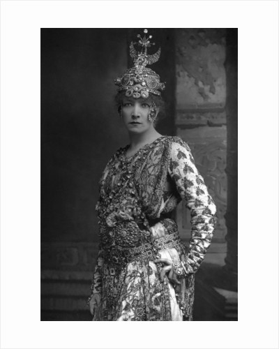 Sarah Bernhardt (1844-1923), French stage actress by W&D Downey