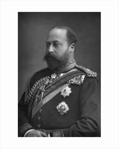 Prince Edward of Wales, the future King Edward VII of Great Britain by W&D Downey
