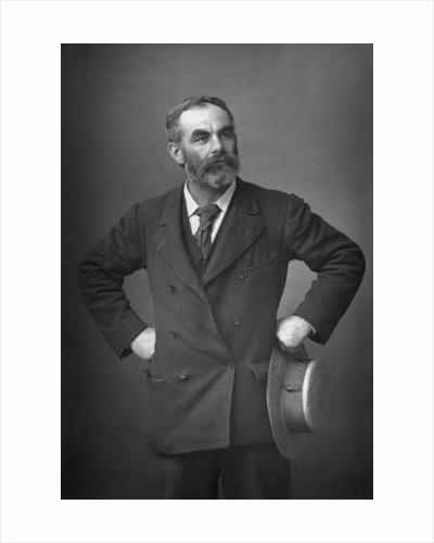 John Burns (1858-1943), English trade unionist, anti-racist, socialist and politician by W&D Downey