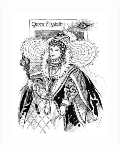 Queen Elizabeth I by M Bowley