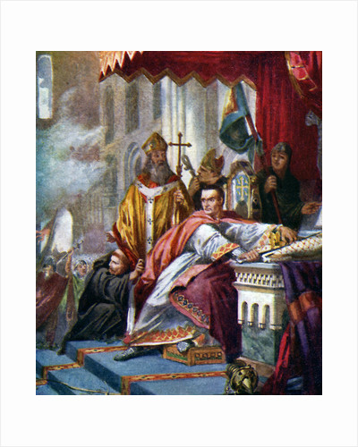Coronation of William the Conqueror by Anonymous