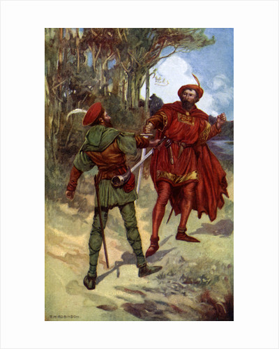 Richard I and Robin Hood by Anonymous