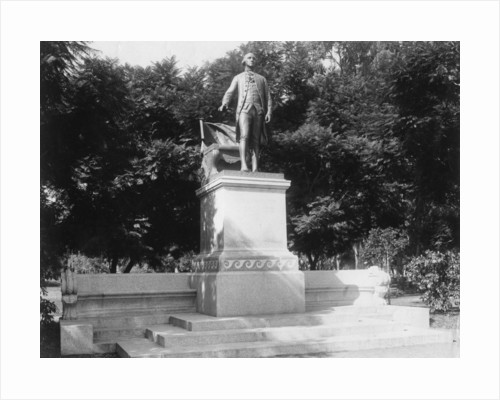 Statue of George Washington (1732-1799), Buenos Aires, Argentina by Anonymous