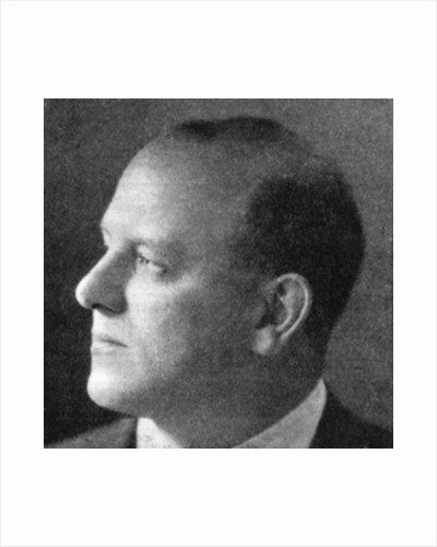 P.G. Wodehouse (1881-1975), English author by Anonymous