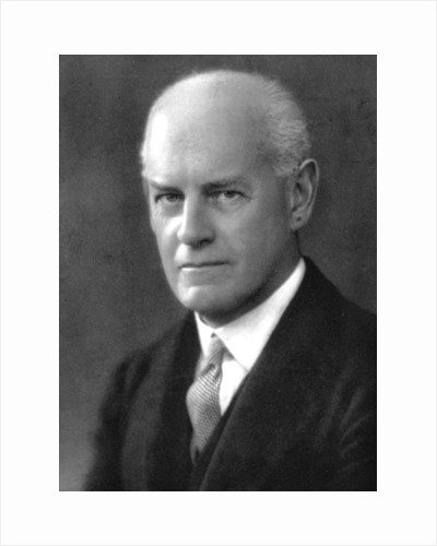 John Galsworthy (1867-1933), English novelist and playwright by Anonymous
