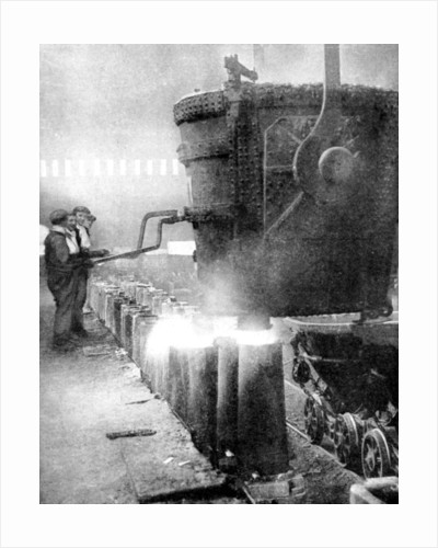Bessemer process for manufacturing steel by Fox