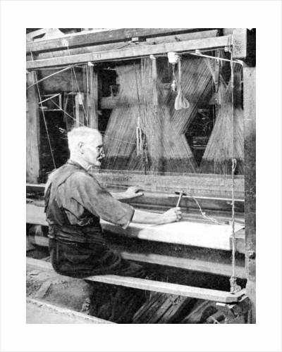 Weaving Irish linen, Lurgan, Armagh by Fox