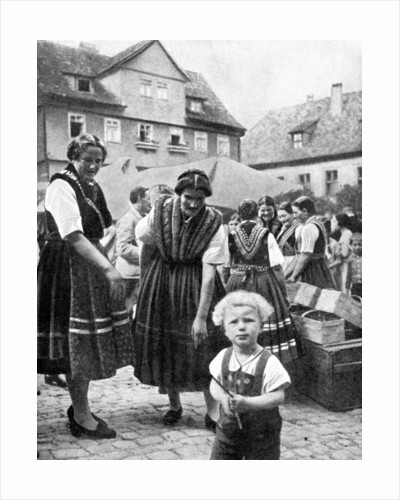 Traditional costume, South Germany by Anonymous