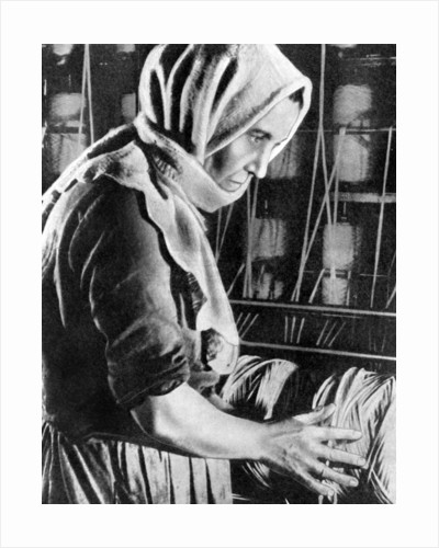Female factory worker, Moscow by Anonymous