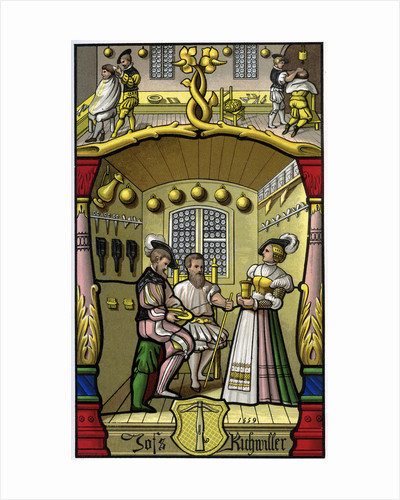 Barber and wigmaker by H Moulin