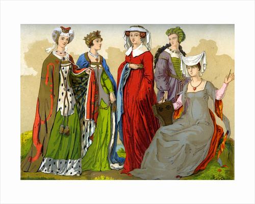English noblewomen by Edward May