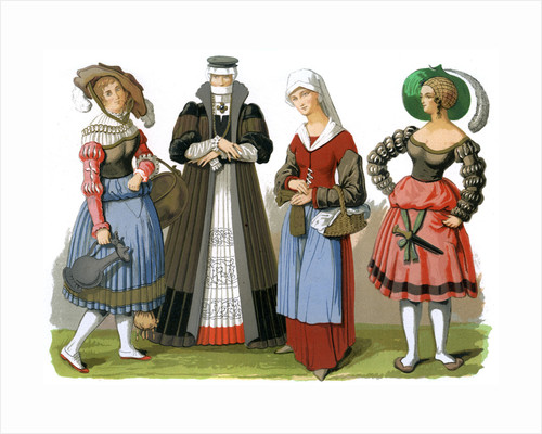 Swiss costumes by Edward May
