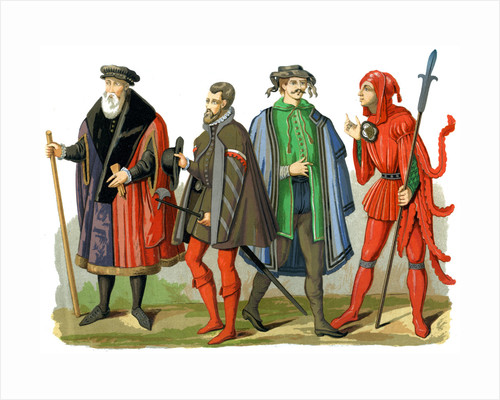 German costumes by Edward May