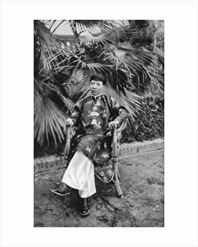 Emperor Khai Dinh (1885-1925), 12th Emperor of the Nguyen Dynasty, Annam, Vietnam by Anonymous