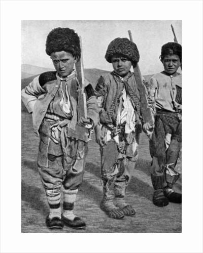 Boys from Artemid, Armenia by Maynard Owen Williams