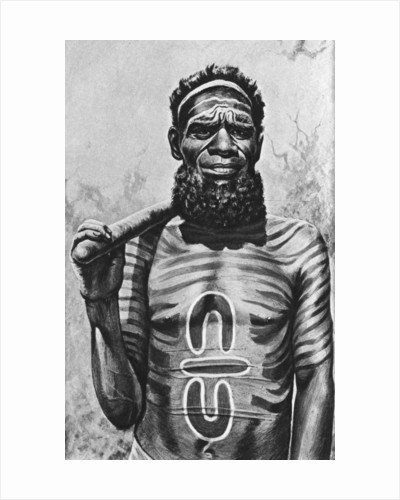 Medicine man of the Worgaia, central Australia by Anonymous