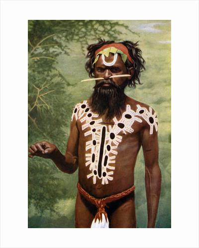 Medicine man, Australia by Spencer and Gillen