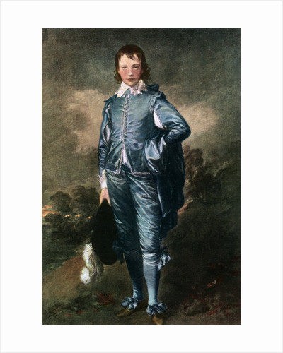 'Master Buthall', (The Blue Boy) by Thomas Gainsborough