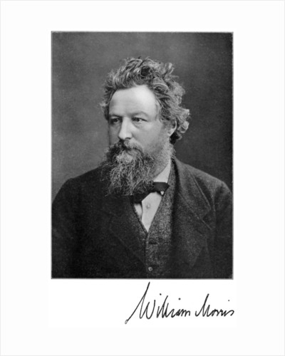 William Morris, 19th-century English artist, writer, socialist and activist by Anonymous