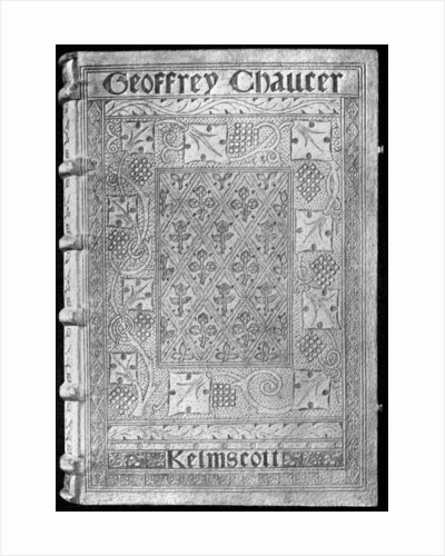 The Kelmscott Chaucer, with a special binding by William Morris by Anonymous
