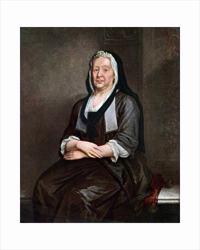 'Mrs Richard Hogarth', the artist's mother by William Hogarth