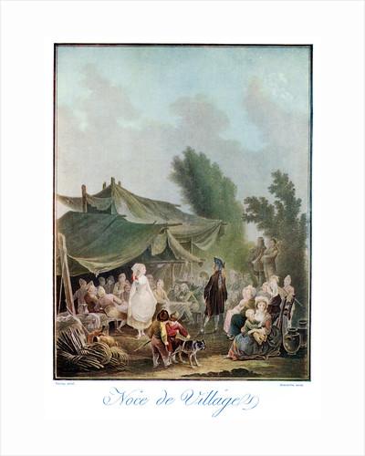 Noce de Village by Descourtis