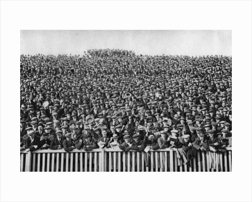 A Saturday winter football crowd, London by Anonymous