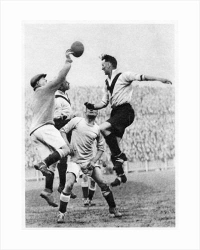 Goalmouth action at Clapton Orient, London by Anonymous