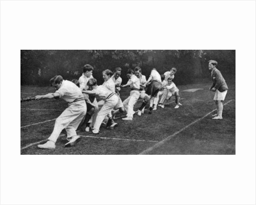 Tug-of-war at the Mill Hill Junior School sports day, London by Anonymous