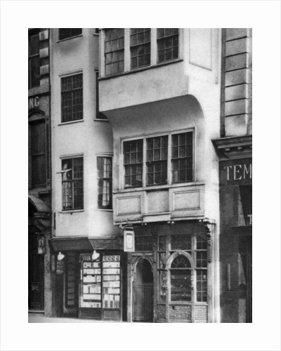 A bookshop and tobacconist's in the Strand, London by Anonymous