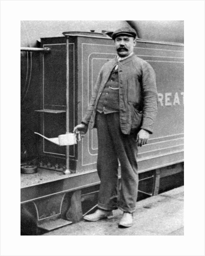 A train driver, London by Anonymous